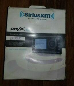 Sirius XM Onyx Radio And  Home Kit Dock