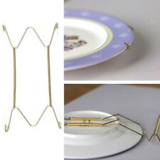 Plate Wire Hanging Gold Hanger Flexible With Spring Wall Display/Art Decor Home
