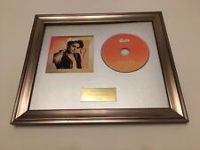 SIGNED/AUTOGRAPHED THE VAMPS -NIGHT & DAY FRAMED CD PRESENTATION. BRAD EDITION