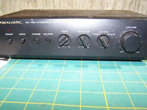 Vintage Realistic Radio Shack SA-155 cat # 31-1957 Integrated Mini Amplifier