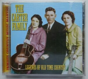 THE CARTER FAMILY Legends Of Old Time Country - 20 Track CD (2000)