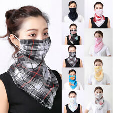 Chiffon Face Mouth Nose Cover Outdoor Scarf UV Protection Shawl Veil Hearwear