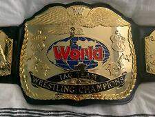 Fandu Gold Tag FWF Team Championship Belt.