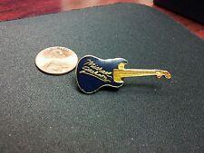 Vtg Michael Jackson Enamel Guitar Pinback Pin Button Hat Lapel Auction Finds 702