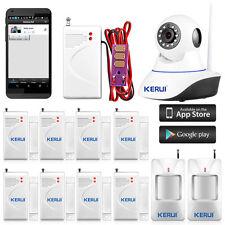 Wireless IP Camera WiFi Alarm System Home Burglar Security 32G SD Card