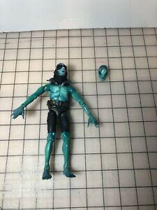 Used Loose Mezco Hellboy Abe Sapien Action Figure Toy 2004 Rare
