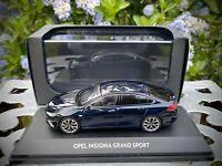 Opel Insignia Grand Sport - Scale 1:43 Size - Collector's Model Car - Blue