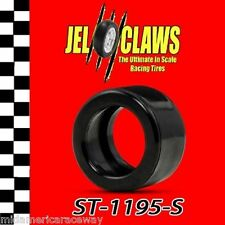 ST 1195-S 1/32 Scale Slot Car Tires Fits Scalextric Hornby TVR Early Car Wheels
