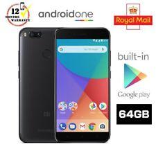 Xiaomi Mi A1 64GB LTE 4GB RAM Unlocked Dual Camera Mobile Android One - Black UK