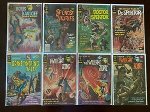 Bronze age Gold Key Horror comic lot 11 different issues 4.0 VG