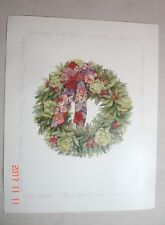 Christmas Wreath 2-Piece Art Prints 8 X 10