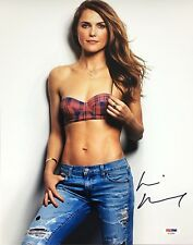 KERI RUSSELL SIGNED 11X14 PHOTO AUTOGRAPH PSA DNA COA AE25680