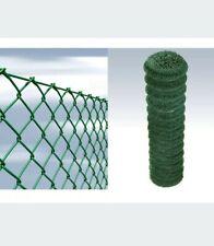 Rete Romboidale Plastificata Griglia Sciolta Maglia 50x50 Recinzione h100cm