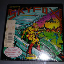 Ray Tobey's Skyfox Commodore 1986 New Sealed Vintage Commodore Simulation Game