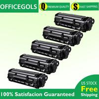 5PK FX9 /FX10 /C104 Toner Cartridge For Canon ImageClass MF4350d MF4370dn MF4690