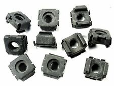 "Mercury Cage Nuts- 5/16""-18 Coarse Thread- Fits 1/2"" Square Hole- Qty.10- #186"