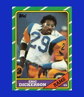 1986 Topps #78 Eric Dickerson NR-MINT or BETTER - $1 COMBO SHIPPING