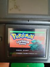 POKEMON LEAF GREEN NINTENDO GAMEBOY ADVANCE GBA PERFECT MINT WORKING CONDITION