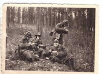 Foto 2.WK deutsche Soldaten Luftwaffe Frankreich ca. 1940 Wehrmacht WW2 C17