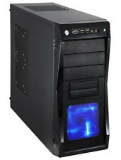 CUSTOM 4.0GHZ GAMING PC AMD RX 560 Graphics Card 8GB 1TB New Desktop Computer