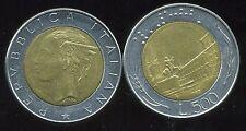 ITALIE   ITALY  500 lire 1982 ( bis )