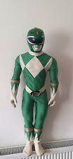 Very Rare Mighty Morphin Power Rangers large Green Ranger 1994 90s