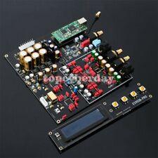 New listing Dual Es9038Pro Decoder Dac Board Dsd 384K Amanero Usb Lossless Fiber Coaxial