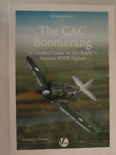 Book: The CAC Boomerang (Airframe Album 3) RAAF Famous WWII Fighter