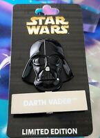 Disney Pin Star Wars Darth Vader Helmet LE 4000 BRAND NEW