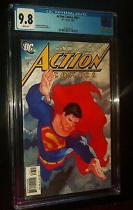 ACTION COMICS #847 2007 DC Comics CGC 9.8 NM/MT White Pages SUPERMAN