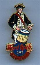 Hard Rock Cafe PHILADELPHIA 1999 Patriot Drummer BOY PIN #7379 - hrc.com Catalog