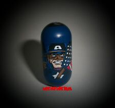 2004 Marvel Universe Mighty Beanz 100 ULTIMATE CAPTAIN AMERICA Bean Series 2 NEW