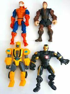 Marvel Super Hero Mashers Goblin Bumblebee Transformer Action Figure Toy Bundle
