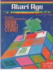 Atari Age Magazine Vol. 2 # 1 - Video Cube, Rubik's Cube, retro gaming, 2600