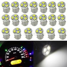 20x White Ba9S LED Bulbs for Instrument Panel Gauge Cluster 1815 1895 Lamps 12V