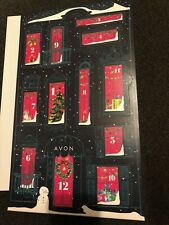 New~Avon's 12 Days of Christmas Beauty Calendar Assorted Products Behind Doors