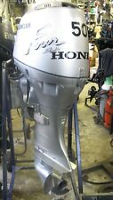 50 hp Honda outboard long shaft remote control boat engine warranty ptt electric