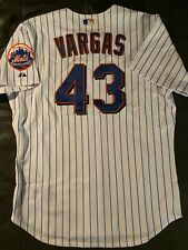 2007 Possibly Game Used Authentic New York Mets Jason Vargas Jersey sz 50