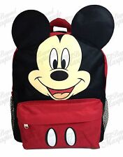 "12"" Mickey Mouse Teen Boys School Book Backpack"