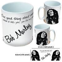 BOB MARLEY PERSONALISED FUNNY CUSTOM MUGS GIFT FOR MAN OR LADY COFFEE MUG