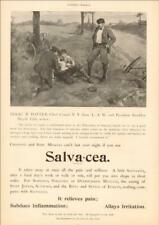 SALVA-CEA, AD for pain reliever, Bicycle Accidents, Sore Muscles, etc. 1895