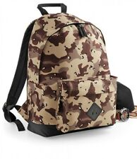 Bagbase Camo Backpack Army Style DPM Desert Camouflage Bag Paintballing (BG175)