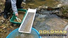 Gold Sluice Box 39,37 x 9,84 inches Mining, Panning, Dredge, Sluicing