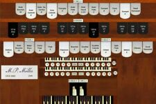 Virtual pipe organ for Hauptwerk Moller 15 rank, 2 manual pipel organ