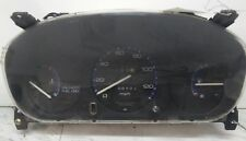 96-00 Honda Civic speedometer speedo cluster gauges odometer manual type 166K