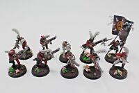 Warhammer Empire Milita rifle men well painted