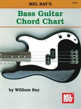 Mel Bay's Guitar Chord Chart by William Bay New