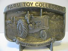 John Deere 620 Tractor Belt Buckle 1990 Farm Toy Collector Limited Ed 220 of 500