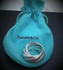 $975 Tiffany & Co. Sterling Silver 925 Paloma's Melody Nine-Band Ring