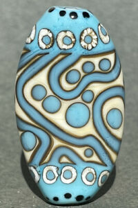 Handmade Lampwork Focal Bead ~ Father Sky ~ By Soul Of Glass SRA